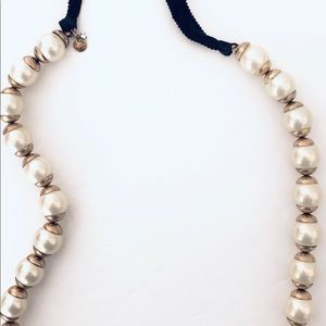 J. Crew Faux Pearl Necklace Designer Chic Gift